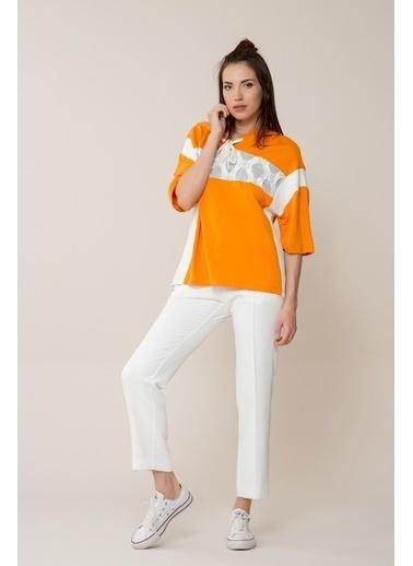 GIZIA Sweatshirt Oranj